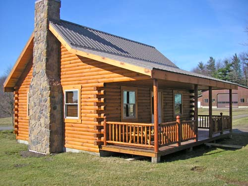 the union hill log cabin 800 square feet affordable and roomy